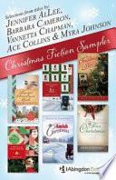 Free Christmas Fiction Sampler   eBook  ePub