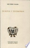 Escritos y testimonios