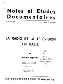 Notes et   tudes documentaires