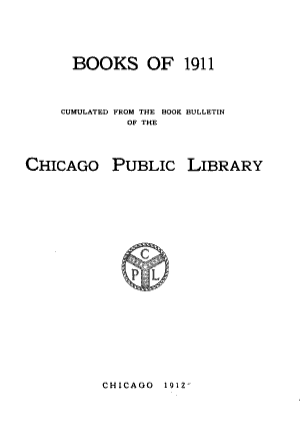 Read Online Books of 1912- PDF