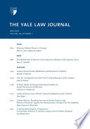 Yale Law Journal  Volume 125  Number 7   May 2016