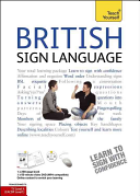 British Sign Language  Book DVD Pack