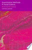 Quantitative Methods in Social Science Research