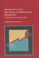 Adolescents With Emotional And Behavioral Disabilities