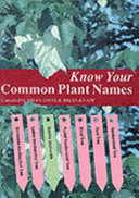 Know Your Common Plant Names
