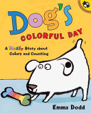 Dog s Colorful Day