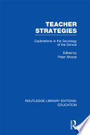 Teacher Strategies  RLE Edu L