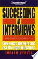 Succeeding at Interviews