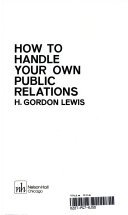 How to handle your own public relations