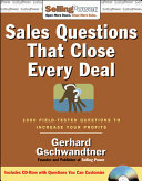 Sales Questions that Close Every Deal
