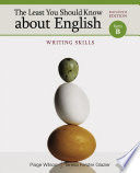 The Least You Should Know about English  Writing Skills  Form B