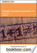 Complex Functions Examples c 5