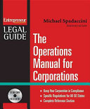 The Operations Manual for Corporations