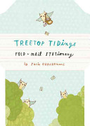 Treetop Tidings Fold and Mail Stationery
