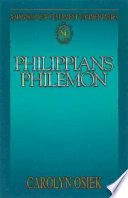 Abingdon New Testament Commentaries  Philippians   Philemon