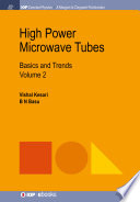 High Power Microwave Tubes