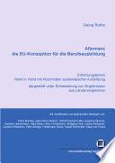 Alternanz - die EU-Konzeption für die Berufsausbildung