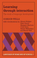 Learning Through Interaction: Volume 1