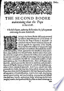 A Treatise Concerning Antichrist Proving That The Pope Is Antichrist Against All The Objections Of R Bellarmine Etc