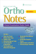 Ortho notes : clinical examination pocket guide /