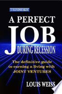 A Perfect Job During Recession