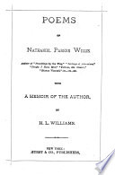 Poems of Nathaniel Parker Willis