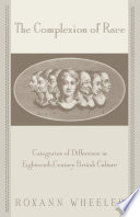 The Complexion Of Race Categories Of Difference In Eighteenth Century British Culture [Pdf/ePub] eBook