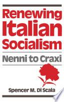 Renewing Italian Socialism