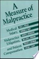 A Measure Of Malpractice
