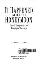 It Happened After the Honeymoon Pdf/ePub eBook