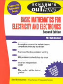 Schaum s Outline of Basic Mathematics for Electricity and Electronics