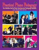 Practical Piano Pedagogy Book PDF