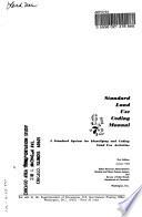 Standard Land Use Coding Manual