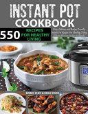 550 Instant Pot Recipes Cookbook
