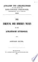 Maître Elie's Überarbeitung der ältesten französischen Übertragung von Ovid's Ars amatoria