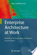 Enterprise Architecture At Work : structure, processes, applications, systems and techniques...