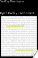 Open Book Livre Ouvert