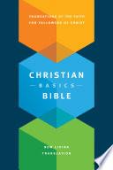 The Christian Basics Bible NLT