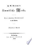 J.G. Seume's sämmtliche Werke