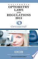 2015 Optometry Laws and Regulations