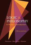 Logic and philosophy : a modern introduction /