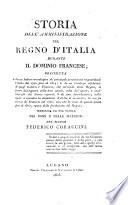 Storia dell amministrazione del regno d Italia durante il dominio francese