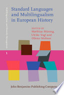 Standard Languages and Multilingualism in European History