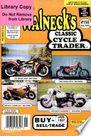 WALNECK'S CLASSIC CYCLE TRADER, JANUARY 1997