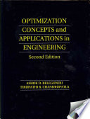 Optimization Concepts and Applications in Engineering