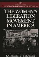 The Women s Liberation Movement in America Book PDF