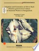 Adoption and economics of silver barb (puntius gonionotus) culture in seasonal waters in Bangladesh