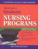 Official Guide to Graduate Nursing Schools