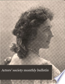 Actors Society Monthly Bulletin