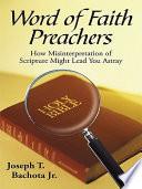 Word of Faith Preachers